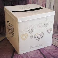 wish box wedding wedding silver hearts wishing well card box wedding wish