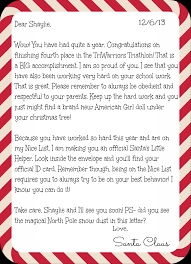 official letters from santa personalized letters from santa santa mail santa and christmas