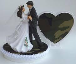camo wedding cake toppers wedding cake toppers fishing outdoors camo
