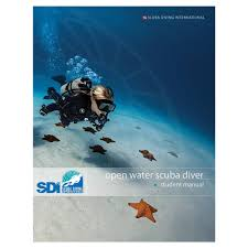 sdi open water student manual iti online ordering system