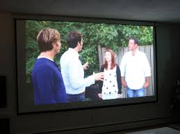 learn how to install a media room projector screen how tos diy