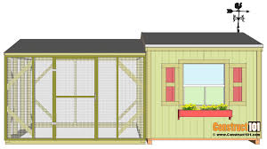 large chicken coop plans step by step construct101