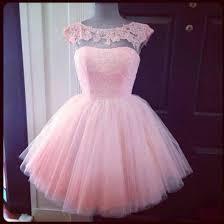 light pink knee length dress buy diyouth 2015 short knee length pink cap sleeve prom dress cheap