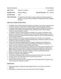 june 24 2016 u2014 the food depot seeks program coordinator the