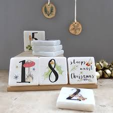 advent calendar personalised christmas advent calendar by littlebirdydesigns