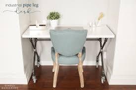 Diy Desk Pipe Diy Industrial Pipe Leg Desk Craft Room Part 7