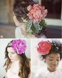 flower for hair wedding hairstyles using flowers