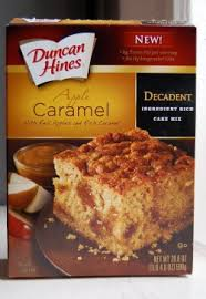 where can i buy candy apple mix mixed review duncan hines decadent apple caramel cake serious eats