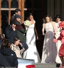 Wedding Dress Cast Michelle Keegan Is Back In A Bridal Gown To Film Our Wedding