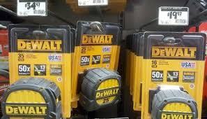 home depot sping black friday 2016 new dewalt built in the usa tape measures