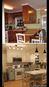Kitchen Ideas Cream Cabinets Best 20 Oak Cabinet Makeover Kitchen Ideas On Pinterest Oak