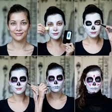 dia de los muertos the traditional mexican sugar skull makeup look tutorial