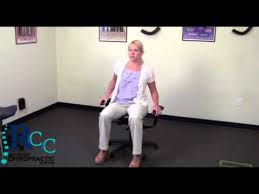 wobble chair exercise youtube