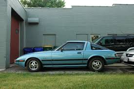 old parked cars 1985 mazda rx 7