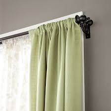 Outer Space Window Curtains by Amazon Com Kenney Scroll Bracket Double Window Curtain Rod Set