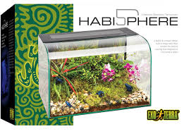 amazon com exo terra habisphere desktop terrarium pet supplies