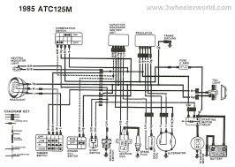 1988 honda 300 wiring schematic honda 300 fourtrax wiring