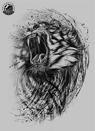 japanese tiger and dragon tattoo designs google search dessin