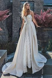 strapless bustier for wedding dress strapless corset wedding dress with a removable skirt galia