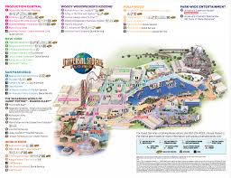 halloween horror nights 25 map behind the thrills universal studios florida