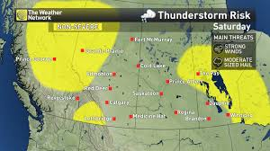 Alberta Wildfire System by News Gusty Winds Thunder Stoke Wildfire Concerns On The