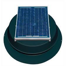 10 watt solar powered attic fan safb ss the home depot