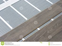 electric floor heating system stock photos images pictures
