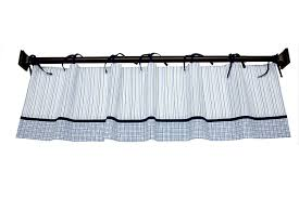 amazon com nautica zachary window valance baby nursery window