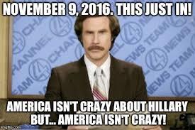 November Meme - ron burgundy meme imgflip