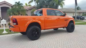 lifted jeep truck 2015 ram 1500 sobe edition u2013 ignition orange sobe jeeps custom