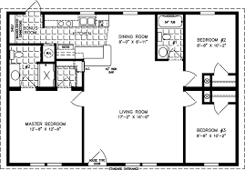 1000 sq ft floor plans three bedroom mobile homes l 3 bedroom floor plans