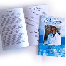 pictures for funeral programs funeral programs a plus print shop