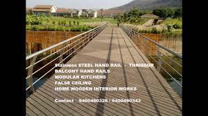 stair hand rail designs ideas thrissur kerala youtube