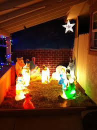 Nativity Sets Outdoor Plastic Lighted Outdoor Nativity Scenes Design 17 Wonderful Lighted Outdoor