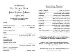 exles of wedding program wedding invitation program wording wedding invitation