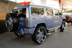 New Hummer H2 Hummer H2 Sema 2008 With 30in Wheels Img 2 It U0027s Your Auto World