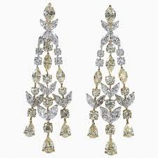 chandelier diamonds awesome chandelier diamond earrings allezgisele diamonds