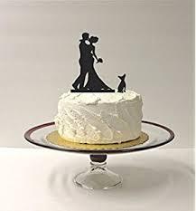 amazon com baby bride groom silhouette wedding cake topper