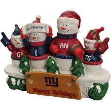Nfl Decorations New York Giants Holiday Decorations Gift Bags Ornaments