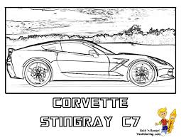 good corvette coloring pages 30 for free coloring kids with