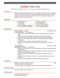 today s resume template best remote software engineer resume example livecareer