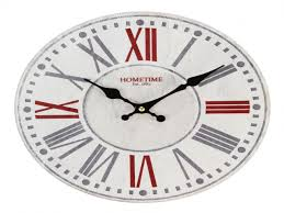 Modern Wall Clock Featured With Brown Numbers Contemporary Wall - Modern designer wall clocks