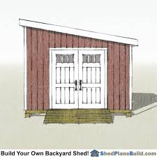Free Wood Shed Plans Materials List by 12x12 Lean To Shed Plans Start Building Your Shed Today