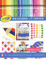 Home Sew Catalog Sew Colorful With Crayola Book Riley Blake Designs Bk5523 Fat