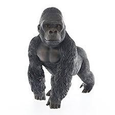 silver back gorilla ornament medium co uk kitchen home