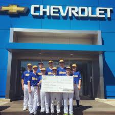 lexus wayzata service village chevrolet was proud to donate this check to wayzata youth