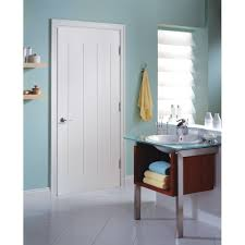 hollow interior doors home depot masonite 24 in x 80 in saddlebrook smooth 1 panel plank hollow