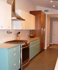 Antique Style Kitchen Cabinets Sam Has A Great Experience With Powder Coating Her Vintage Steel