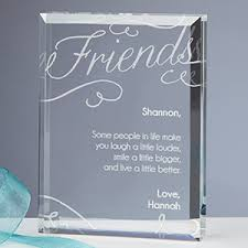 engraved keepsake friends forever