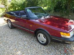 saab convertible red 1992 saab convertible in ruby red and beautiful condition ready